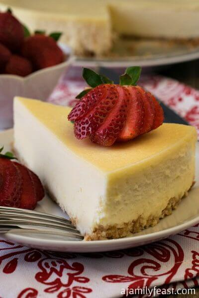 Classic Cheesecake - A Family Feast
