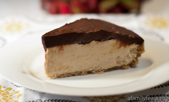 Chocolate Peanut Butter Pie - A luscious peanut butter pie with a ...