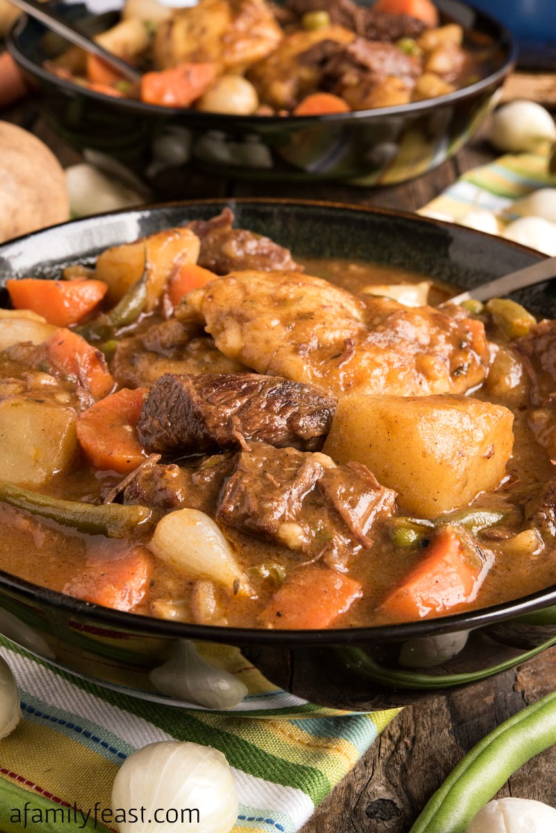 Beef Stew With Dumplings A Family Feast