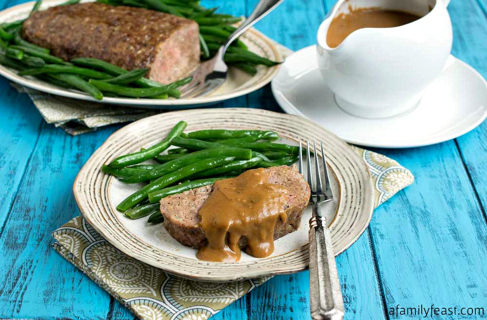 Jack's Meatloaf with Gravy - A Family Feast