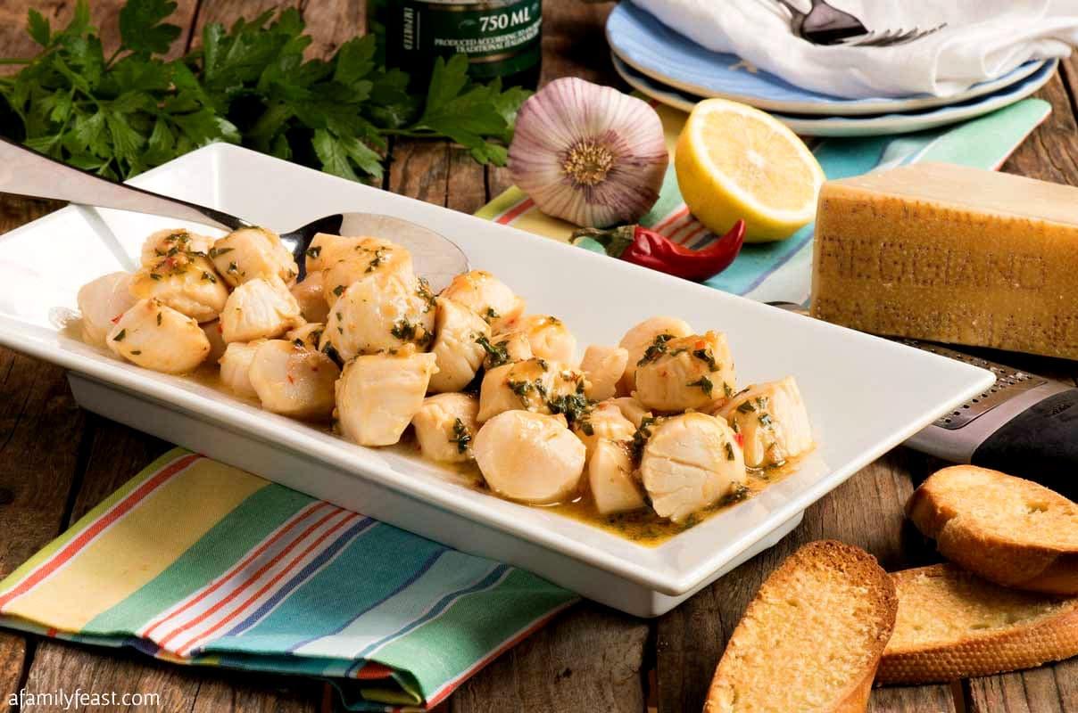 sauteed scallops