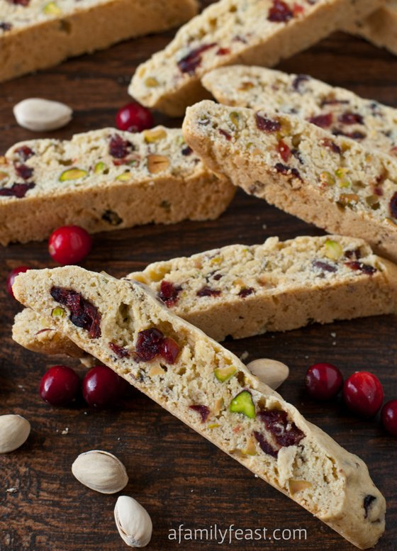 Cranberry Pistachio Biscotti - The perfect holiday biscotti recipe ...