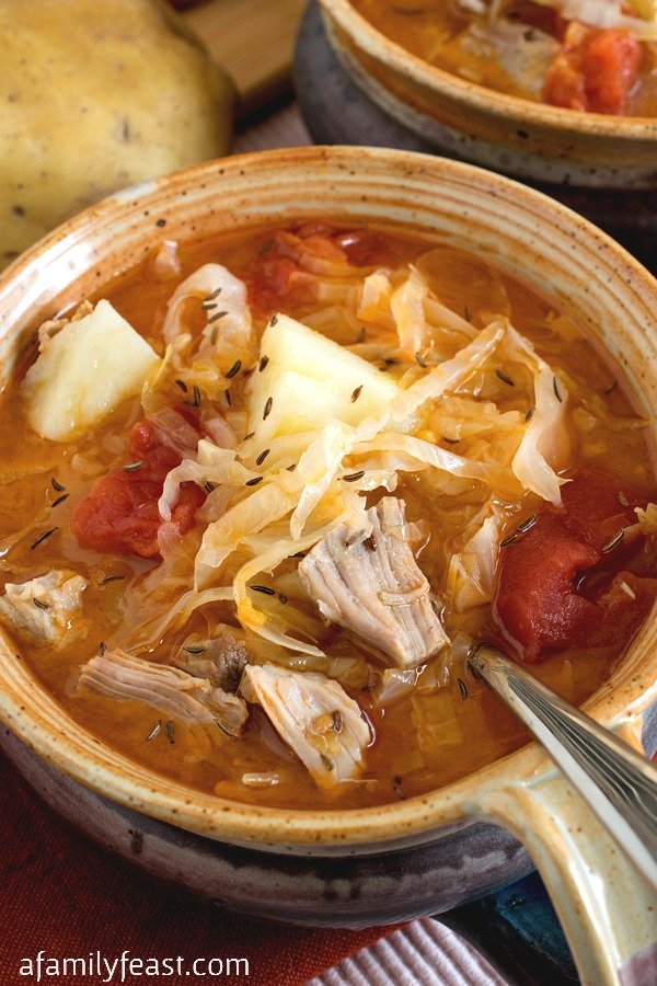 Kapusta (Polish Cabbage Soup) - A Family Feast