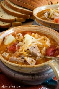 Kapusta (Polish Cabbage Soup) - A Family Feast