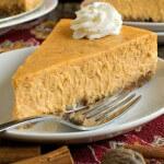 Pumpkin Cheesecake - A Family Feast