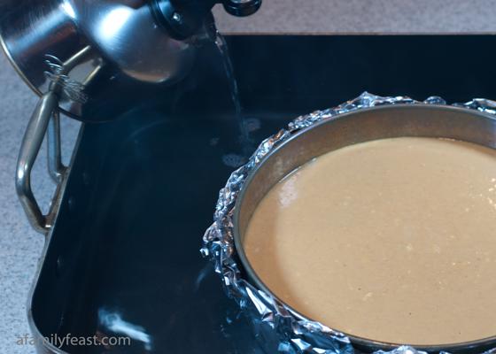 Water bath baking method adding water