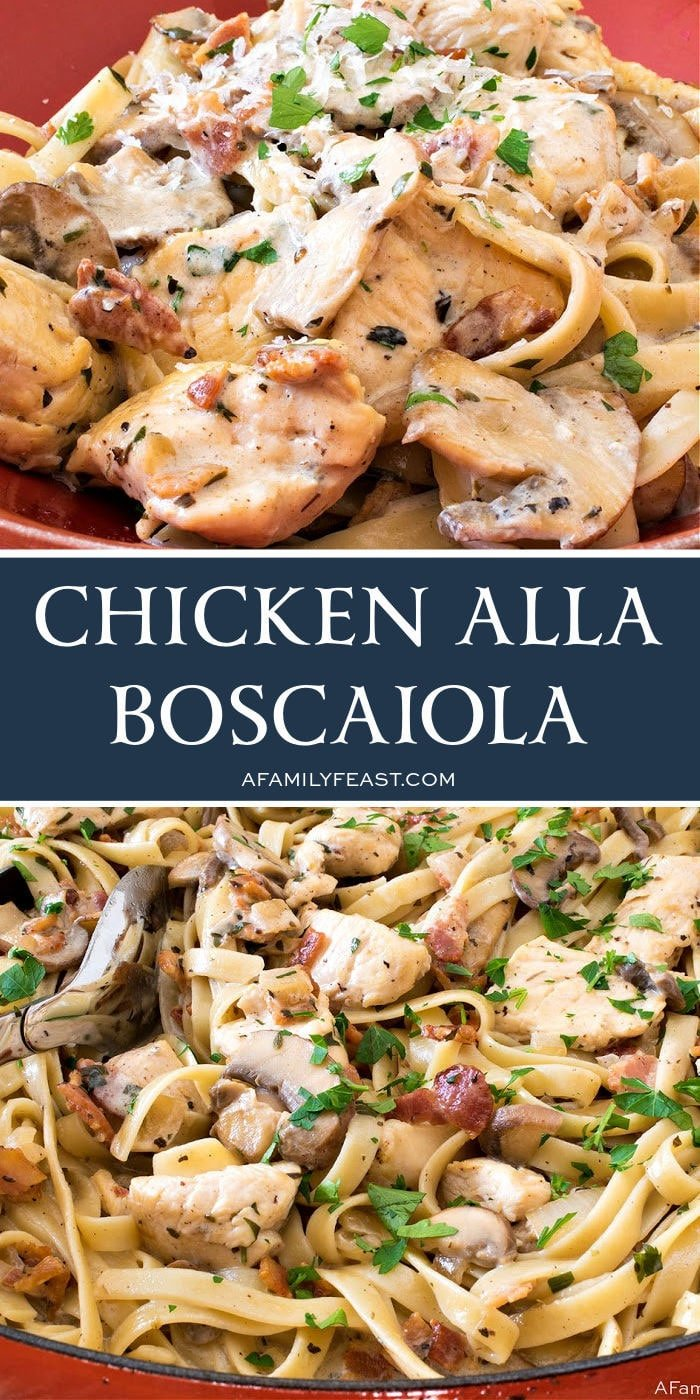 Chicken alla Boscaiola