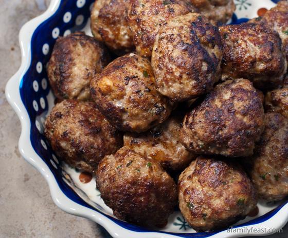 Italian Meatballs - A Family Feast