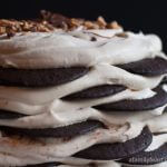 Chocolate Nutella Toffee Icebox Cake