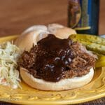 Pulled Pork with Bourbon Barbecue Sauce