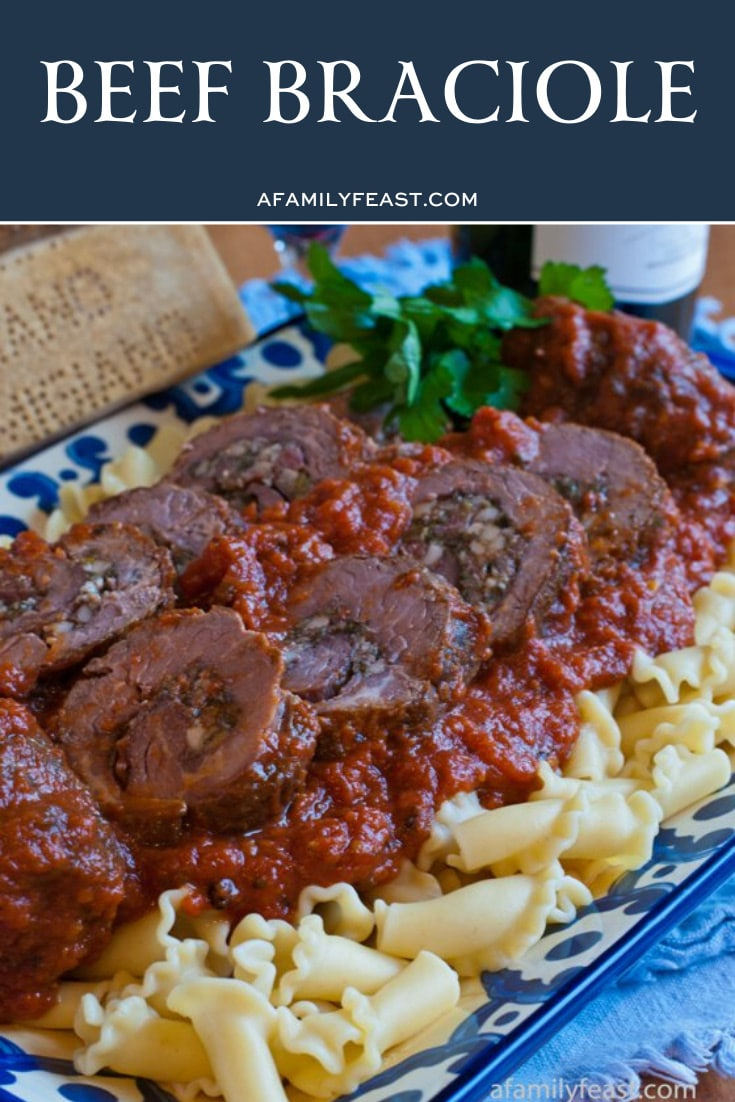 Grandma Gennaco's Beef Braciole