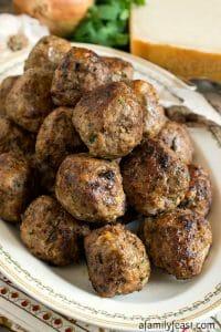 Italian-Style Meatballs - A Family Feast