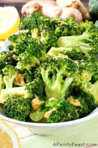 Lemon Ginger Broccoli