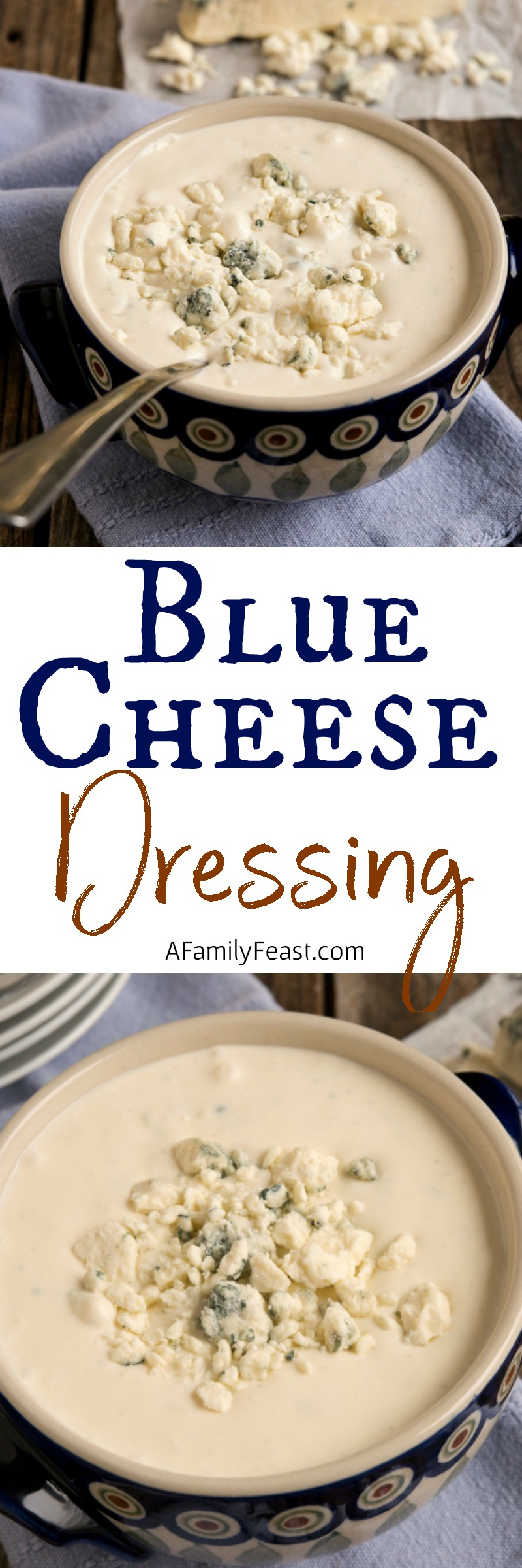 Homemade Blue Cheese Dressing