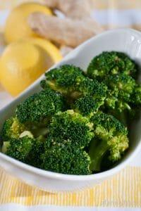 Lemon-Ginger Broccoli - A Family Feast