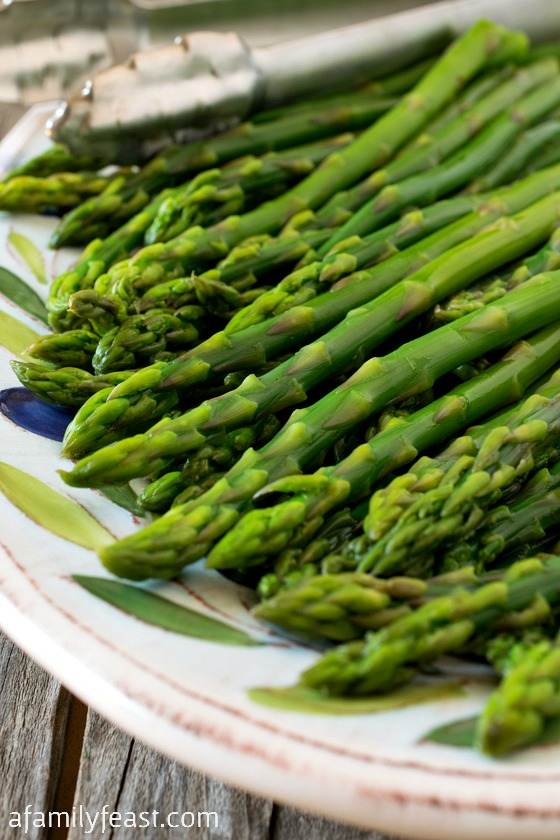 How to cook Perfect Asparagus. Learn this simple technique for cooking vegetables.