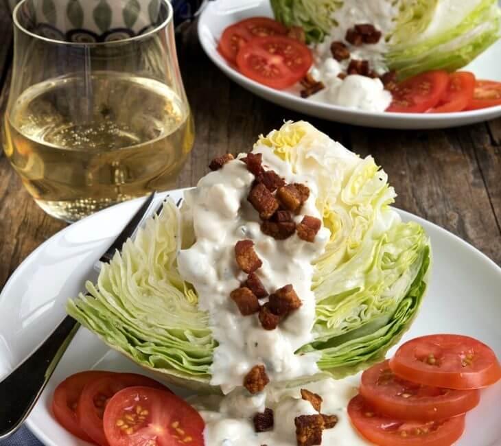 Roman Wedge Salad