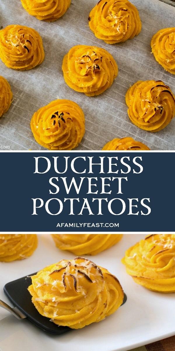 Duchess Sweet Potatoes