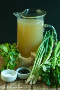 Asian Chicken Stock - A Family Feast