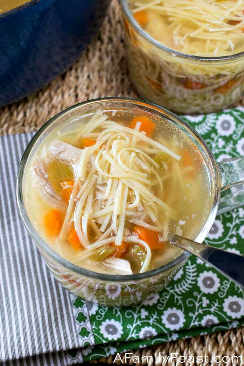 Chicken Noodle Soup (New York Penicillin)