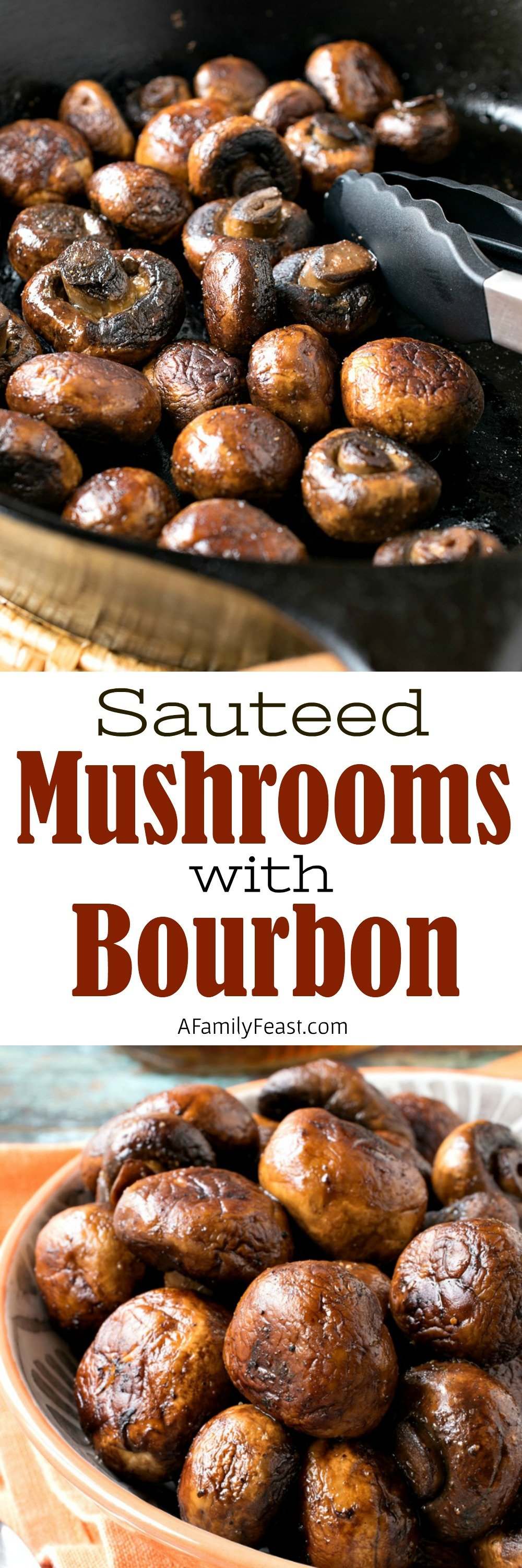 Sauteed Mushrooms with Bourbon