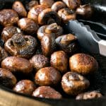 Sautéed Mushrooms with Bourbon