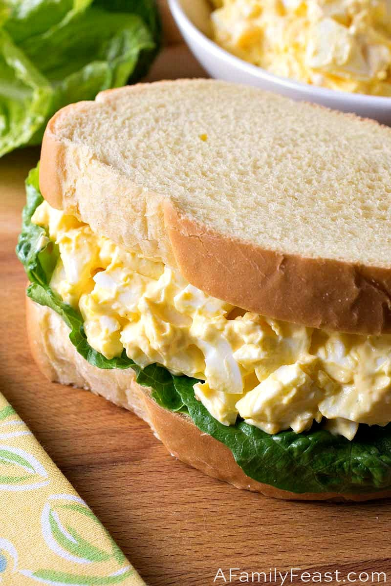 Classic Egg Salad - A Family Feast®