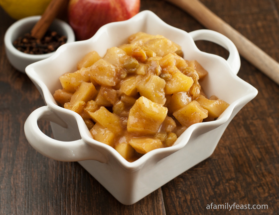 Apple Pear Compote - A Family Feast