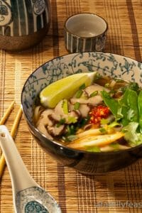 Asian Noodle Soup - A Family Feast