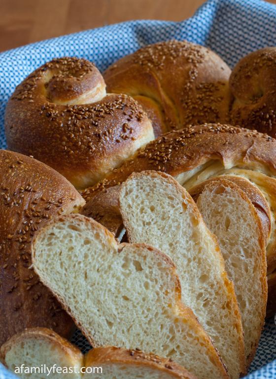 Pane Siciliano - A classic Italian Sicilian sesame seed bread. So delicious!