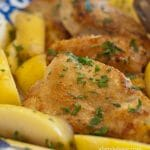 Chicken and Apples in Honey Mustard Sauce