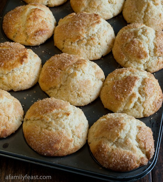 Cream Cheese Muffins - A Family Feast