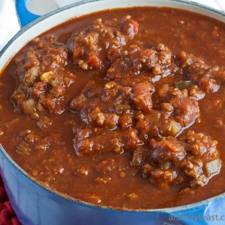 Jack's Chili - A Family Feast