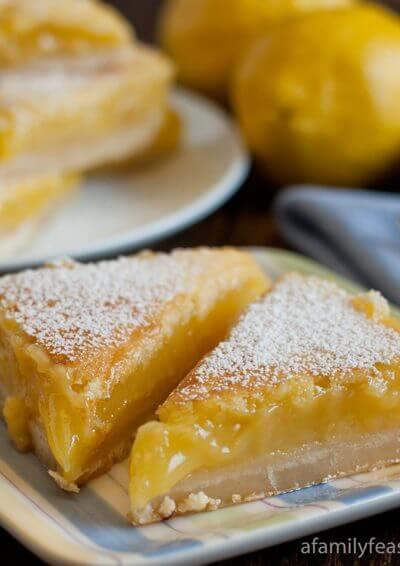 Lemon Bars - A Family Feast