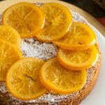 Dinner Party Series – Part 4: Almond Orange Cake