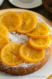 Almond Orange Cake - A Family Feast