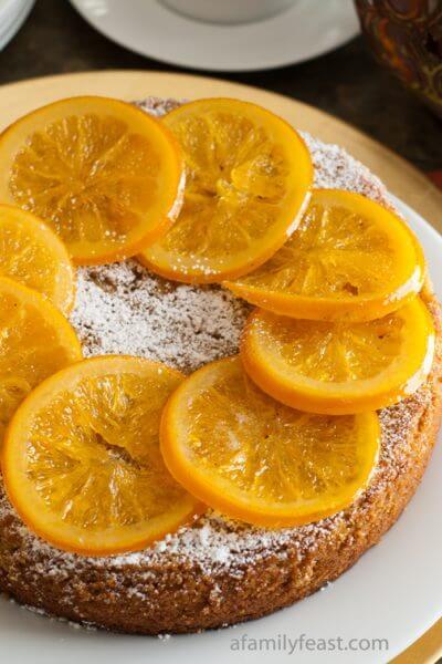 Almond Orange Cake - A Family Feast