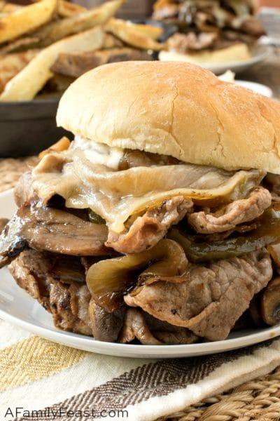 Steak Bomb Sandwich