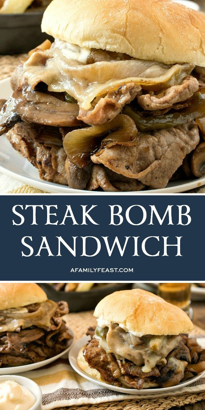Steak Bomb Sandwich