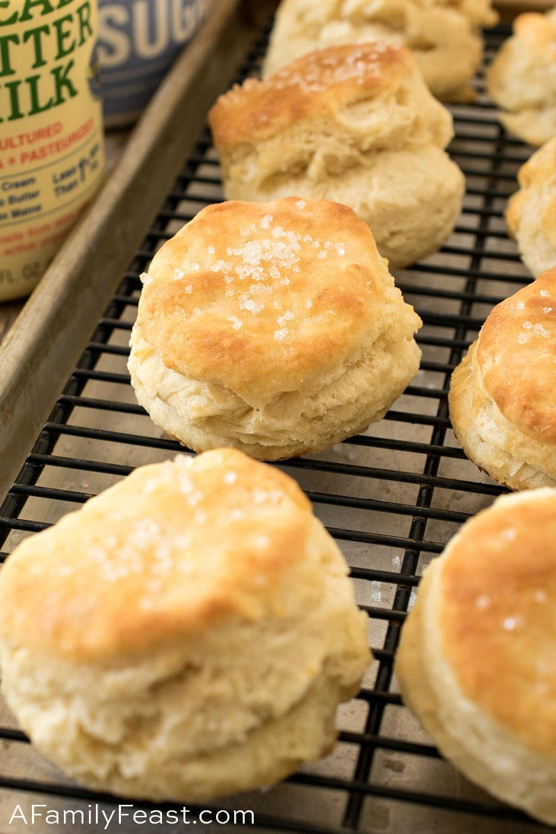 Sweet Buttermilk Biscuits