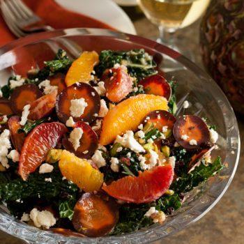 Tuscan Kale Salad - A Family Feast