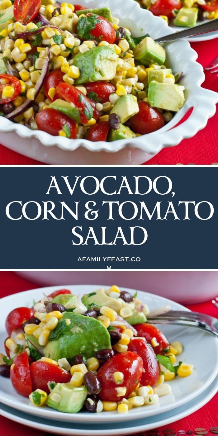 Avocado Corn & Tomato Salad