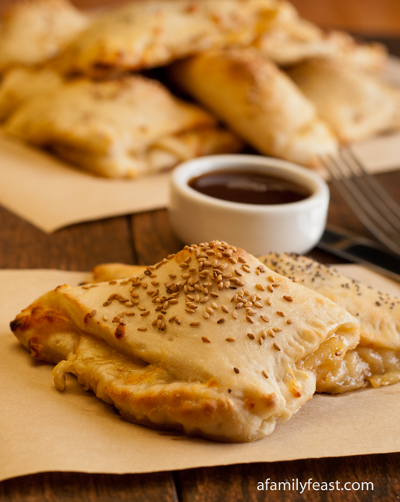 An Asian-inspired Beef Calzones recipe with great flavor. Part of our Weekday Triple Play recipe series.