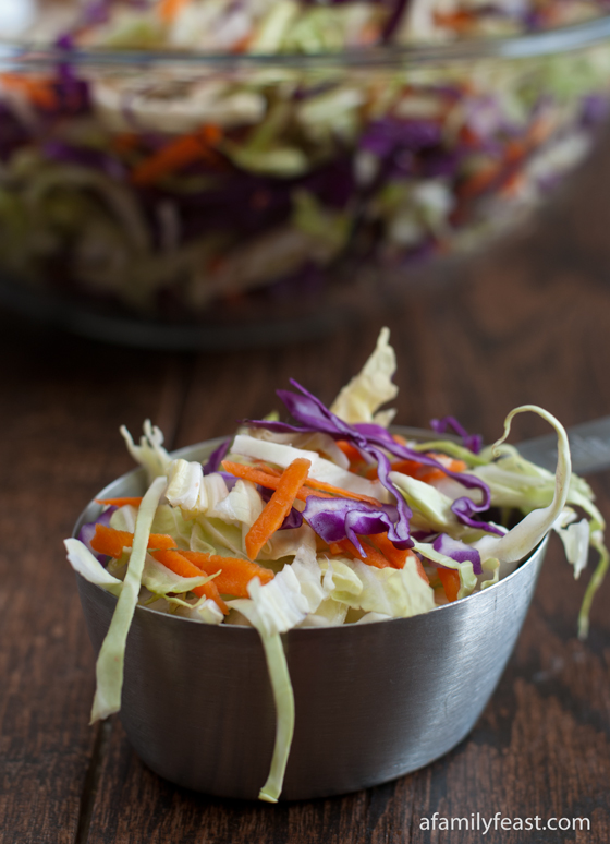 Weekday Triple Play - Cabbage Blend - A Family Feast