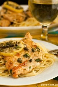 Chicken Piccata - A Family Feast