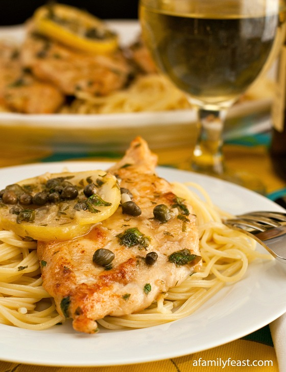 Chicken Piccata A Family Feast