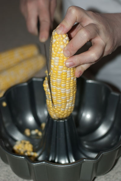 How to Cut Corn off the Cob - A Family Feast