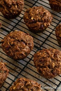 Healthy Whole Wheat Muffins - A Family Feast