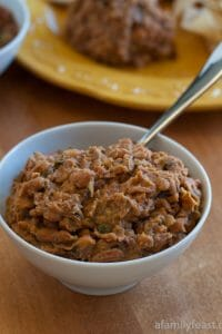 Refried Beans - A Family Feast