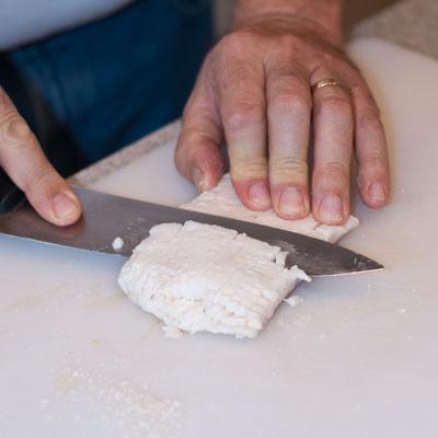 How to Dice Salt Pork - A Family Feast